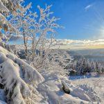 traumhaft ist es auch im Winter am Ochsenkopf